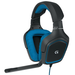100% Original Logitech G430 7.1 Wired Surround Sound Gaming Headphones Microphone Headset For PS4 Auriculares Con Cable 19Jul05