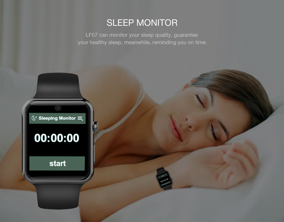 Bluetooth Montre Smart Watch LF07 SmartWatch pour Apple IPhone IOS Android Smartphones