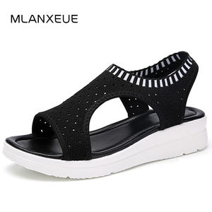 MLANXEUE Women Sandals For 2018 Summer Platform Shoes