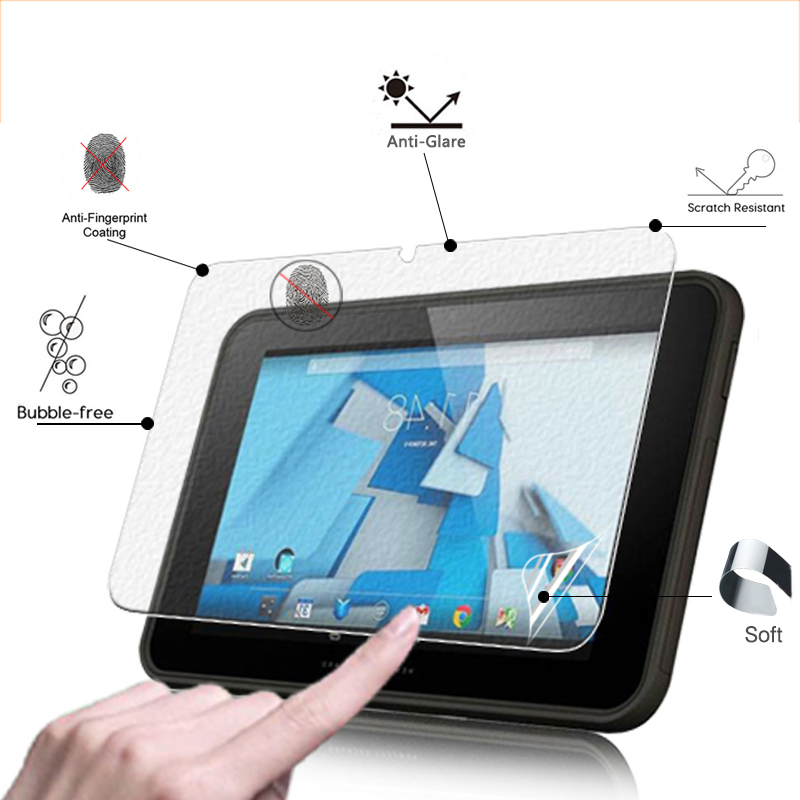 BEST Anti-Glare Matte Protective Film For HP PRO slate 10 EE 10.1 tablet Anti-Fingerprint Screen Protector film + clean cloth