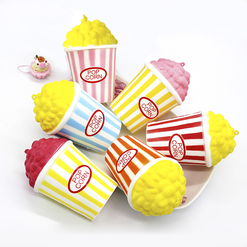 Squishy Slow Rising Squeeze Squishe Pop Corn Antistress Soft Novelty Gag Toys Sports & Entertainment Stress Relief Gifts