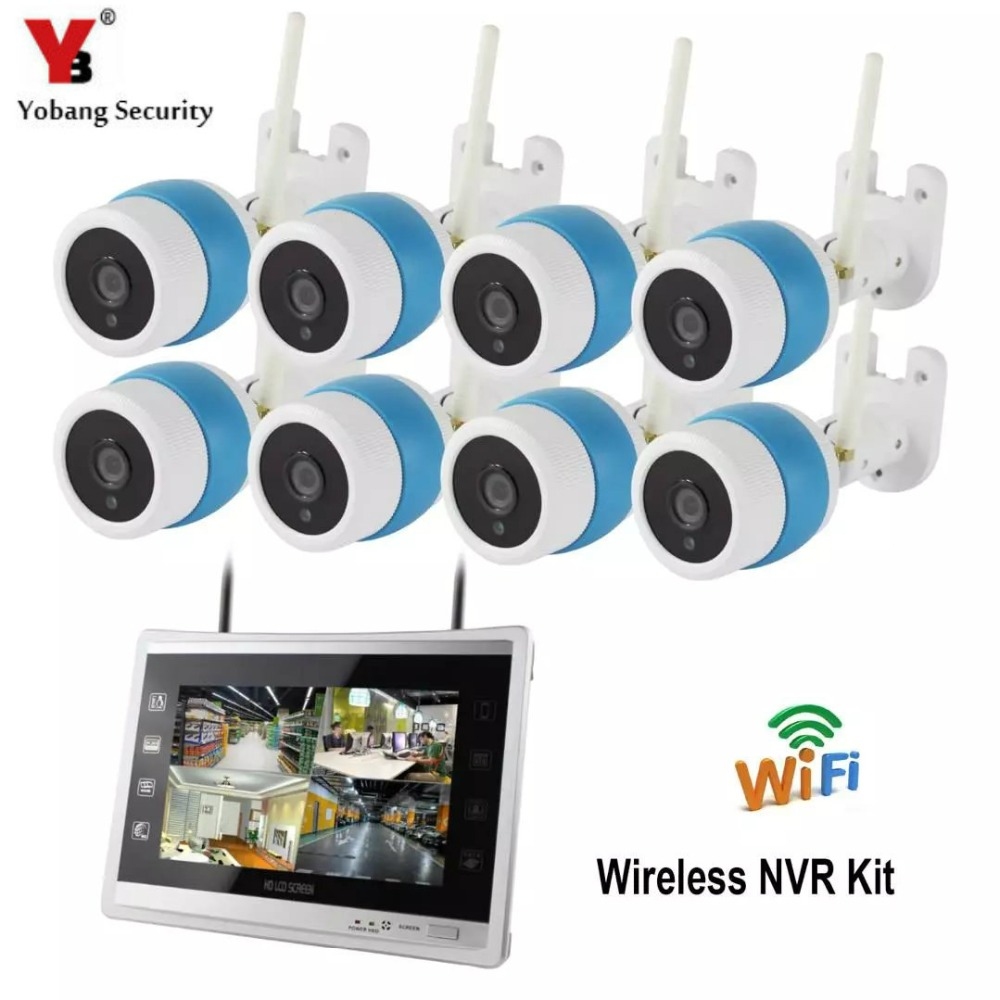 YobangSecurity 8CH Wireless WIFI NVR Camera Surveillance System 11