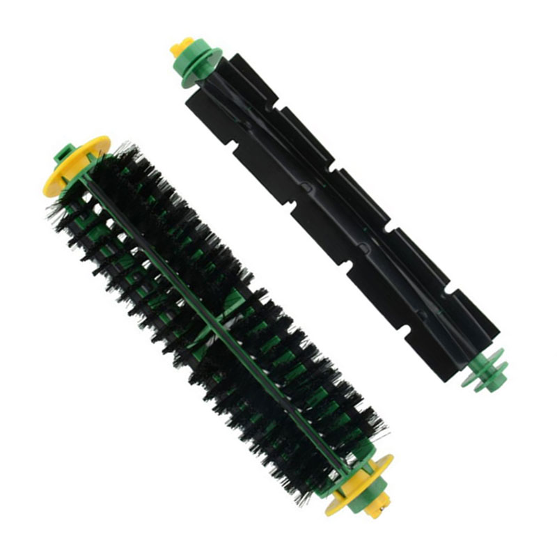 1 Set Bristle Brush + Flexible Beater Brush For IRobot Roomba 500 Series 510 550 560 570 580 610 Vacuum Cleaner Replacement Part