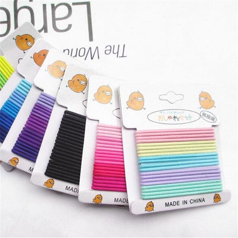 Corea lindo venda del bebé niños Accesorios de pelo banda sólido ...