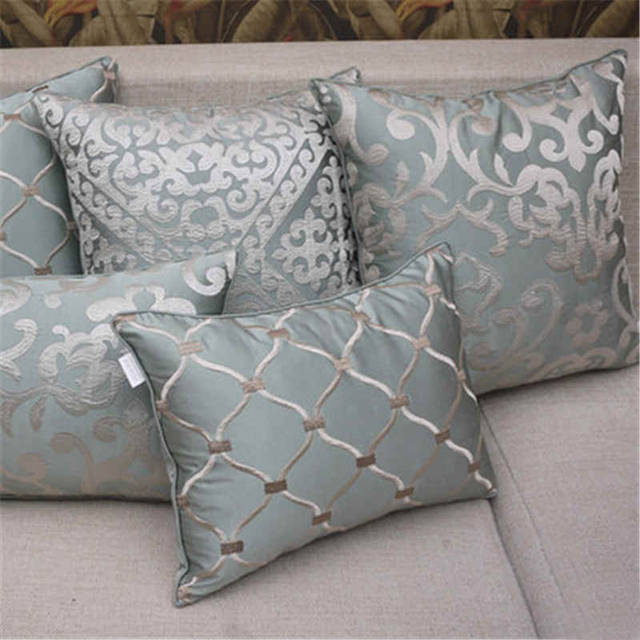 Cojines Sofa Online.European High End Embroidery Cushions Luxury Decor Throw Pillows Without Inner Sofa Home Funda Cojines Decorativos I Pc