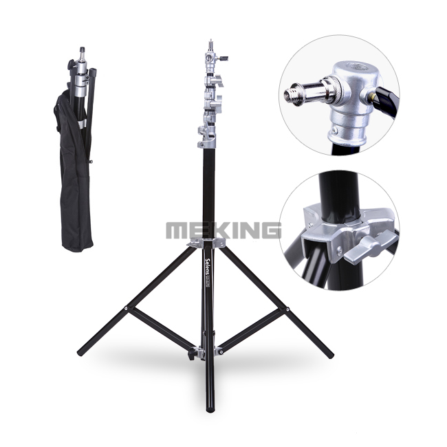 4m Photo Studio Air-Cushion Heavy Duty Light Stand with carrying Bag  portable photo studio 4 photographic backgrounds 1 camera stand 2 halogen lights w carrying bag