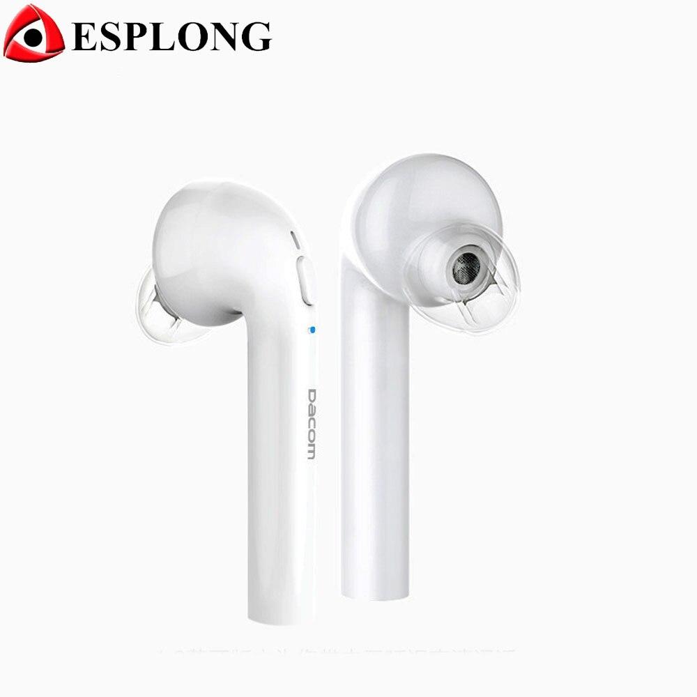 ФОТО DACOM TWS G22A Stereo Bluetooth Headset Mini Hifi Wireless Earphone Handsfree Auriculares Bluetooth 4.2 Earbuds With Microphone
