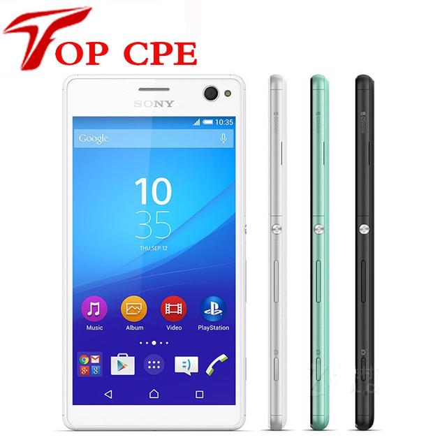"Abierto original sony xperia c4 dual octa-core android teléfono móvil sony e5533 e5343 wifi gps 3g y 4g 5.5 ""16MP 2 GB RAM 16 GB ROM"