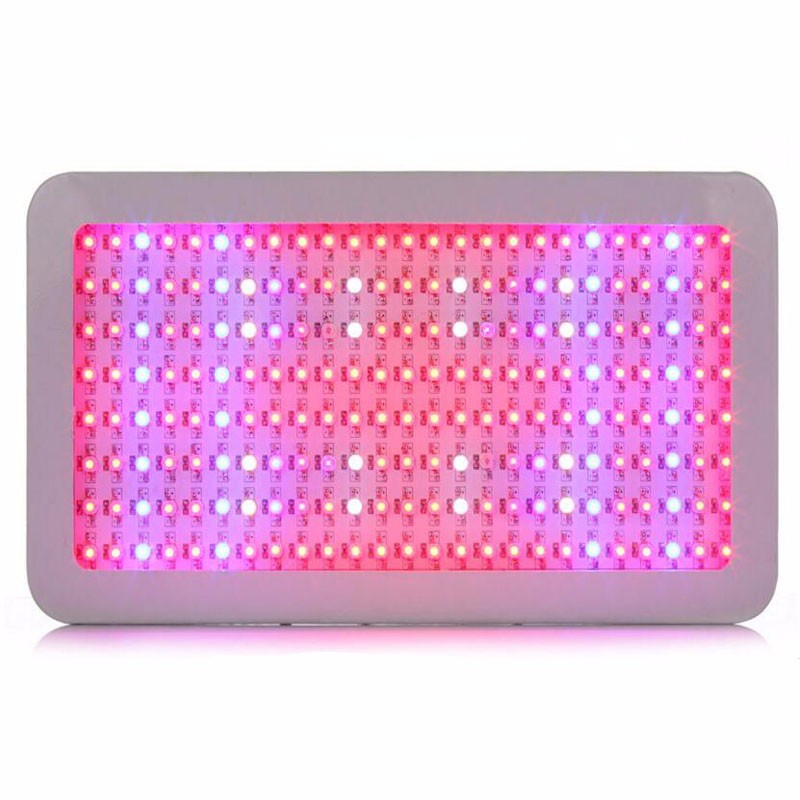 2PCS/LOT High Power 1200W 200leds Full Spectrum Led Grow Light For Green House Grow Tent Hydroponics System Flowering Plant