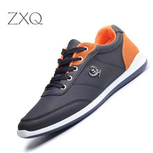 New 2016 Men Shoes Lace Up Designer Spring Autumn Fashion Casual Outdoor Male Footwear For Black Blue