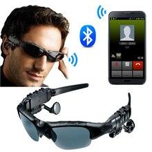 Luar Ruangan Nirkabel Bluetooth 4.1 Berjemur Kacamata Headset Lensa  Matahari Earphone Terpolarisasi Headphone dengan Mikrofon Pa. 0542576591