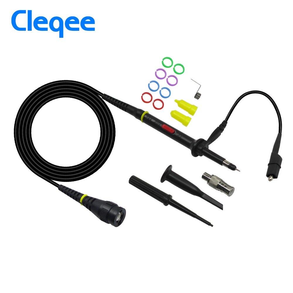 Angemessen Cleqee P7300 1 Stücke Oszilloskop Sonde 300 Mhz Bnc Schutzhülle Kappe Umfang Sonde X1/x10 Dc-300mhz Einfach Zu Verwenden