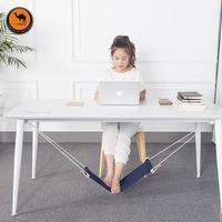 Creative Foot Hammock Lazy Artifacts Desk Study Rest Foot Put Feet Swing Put Foot Pad