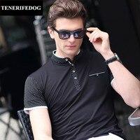 Plus Size M 3XL Stand Neck Polos Men Cotton Short Sleeve Shirt Smart Casual Anti Wrinkle