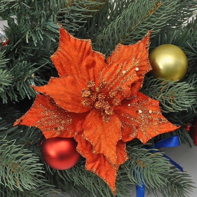 Popular Orange Christmas Tree Decorations Buy Cheap Orange Christmas Tree Decorations Lots From