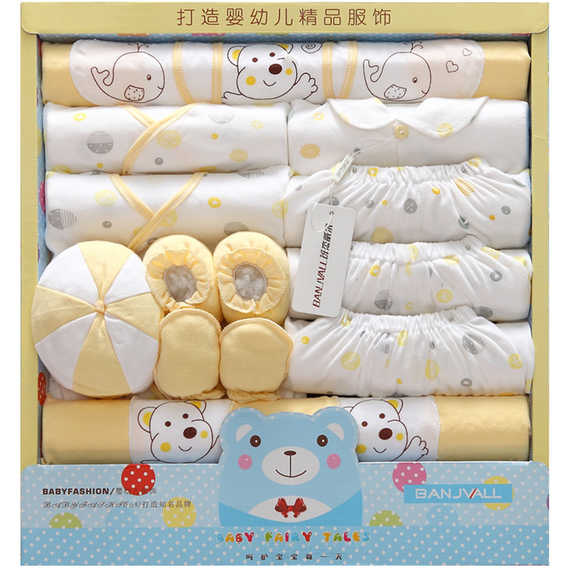 21 pieces Newborn gift Baby Clothing Set kids Clothes 100% Cotton children Spring autumn Infant underwear sets sjbd 16 pieces set newborn baby clothing set underwear suits 100% cotton infant gift set full month baby sets for spring