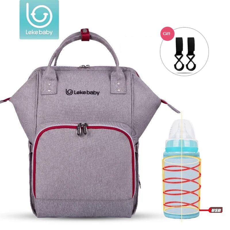 Lekebaby Baby Bag Nappy Bags Large Diaper Bag Backpack Baby Organizer Maternity Bags For Mother Handbag Baby Nappy Backpack bebear new baby diaper bag with exclusive insulated bag mother nappy bags travel backpack waterproof handbag for moms tote bags