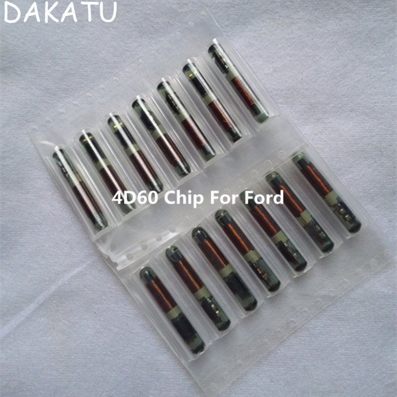 DAKATU For FORD 4D60 Glass chip 4D60 chip blank big glass TP06 19