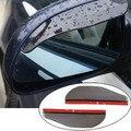 Weatherstrip Automóvel espelho retrovisor do carro espelho lateral espelho chuva sobrancelha espelho retrovisor chuva ou faça sol para bloquear a chuva