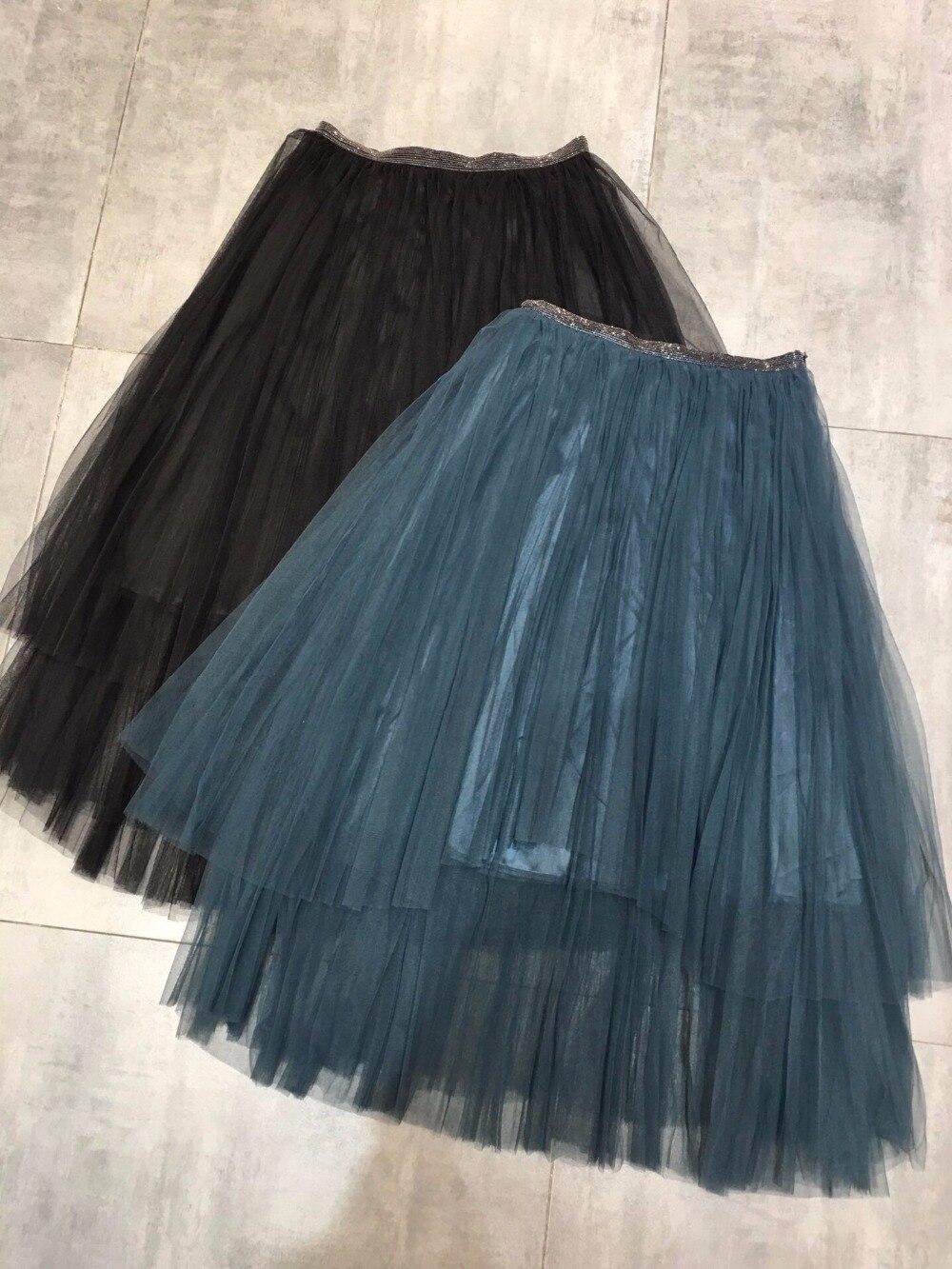 Jupe Femmes Ddxgz3 Mode 2018 2 Maille De Couleur Luxe Perles xqTfWwBSY