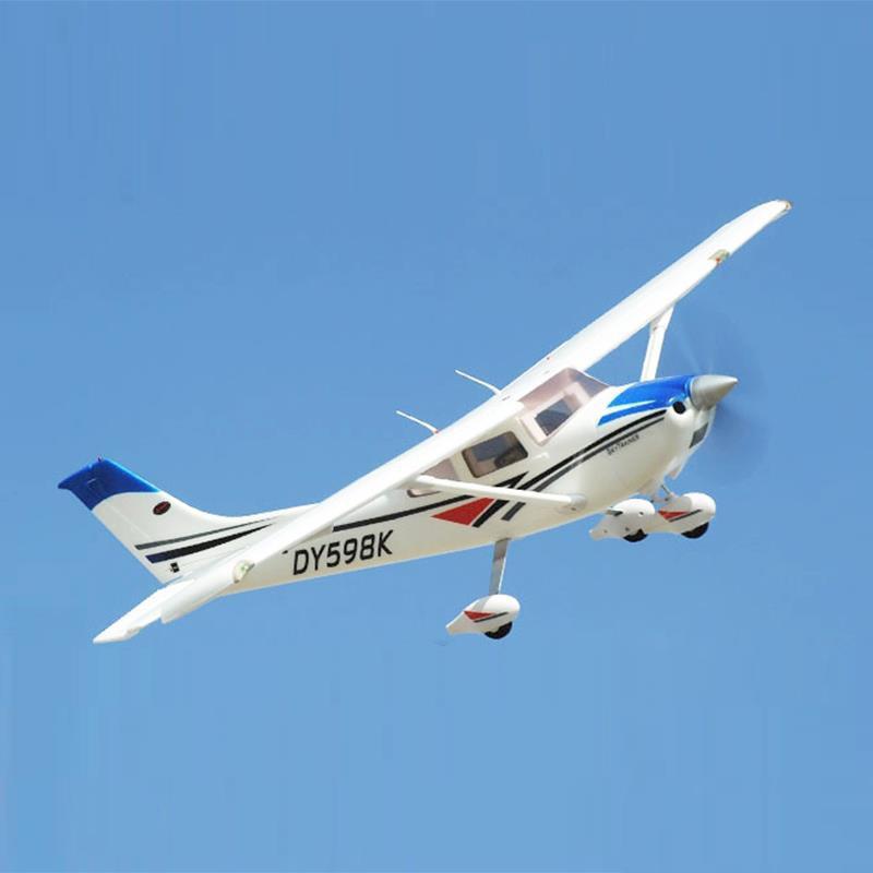 Dynam 1 3M Cessna182 Sky Trainer Propeller RC PNP ARF Plane W Motor Servos ESC W