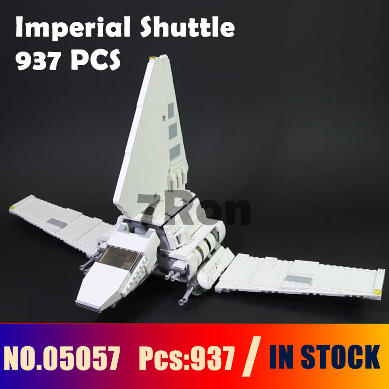 Model Building Kit Blocks Compatible with lego 75094 wars Gift hobbies 05057 937Pcs Star Series Imperial Shuttle Set Bricks Toys 2015 high quality spaceship building blocks compatible with lego star war ship fighter scale model bricks toys christmas gift