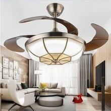 die dimmsteuerung led 42 zoll 108 cm deckenventilator bronze fr led designer kupfer wohnzimmer schlafzimmer esszimmer arbeitszi - Einziehbarer Deckenventilator
