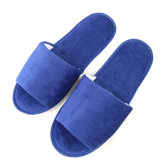 VANLED Wholesale Spring Summer Open-Toed Hotel Slippers Thickening Non-Slip Home Hospitality Guest Indoor\Floor Slippers Shoes