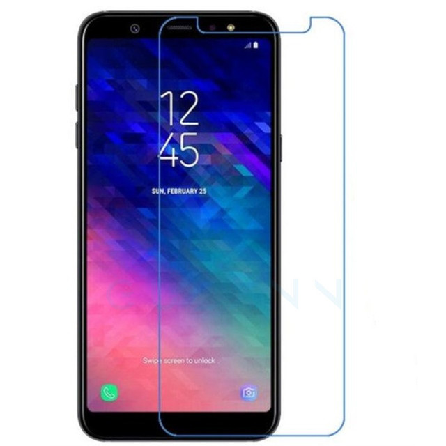 Gulymm Screen Protector For Samsung Galaxy A6 2018 Tempered Glass Samsung A6 2018 Cover Glass Samsung Galaxy A6 A 6 Plus A6Plus