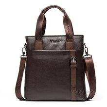 Brand Men Bag new England style men cowhide messenger handbag male vertical business fashion real leather shoulder bag messenger
