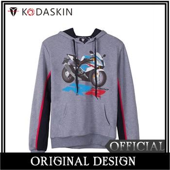 KODASKIN Men Cotton Round Neck Casual Printing Sweater Sweatershirt Hoodies for S1000RR