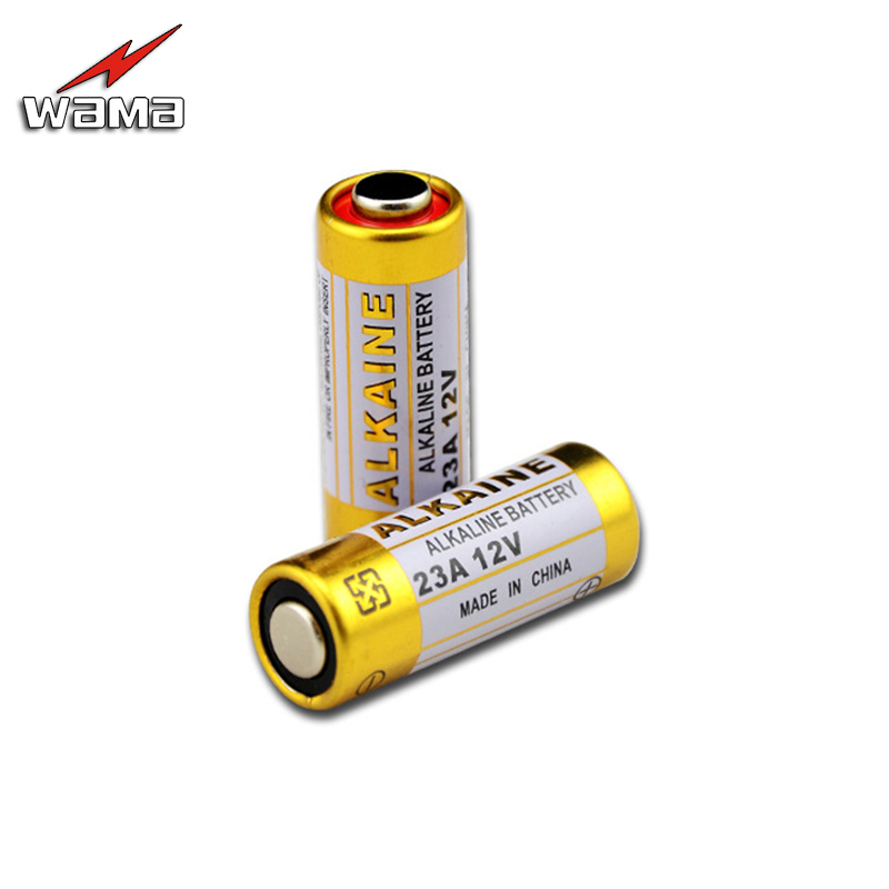 100pcs/20pack Alkaline 12V 55mAh 23A Primary Dry Batteries 21/23 23GA A23 GP23A RV08 Alarm Car Remote Toy Battery Free Ship