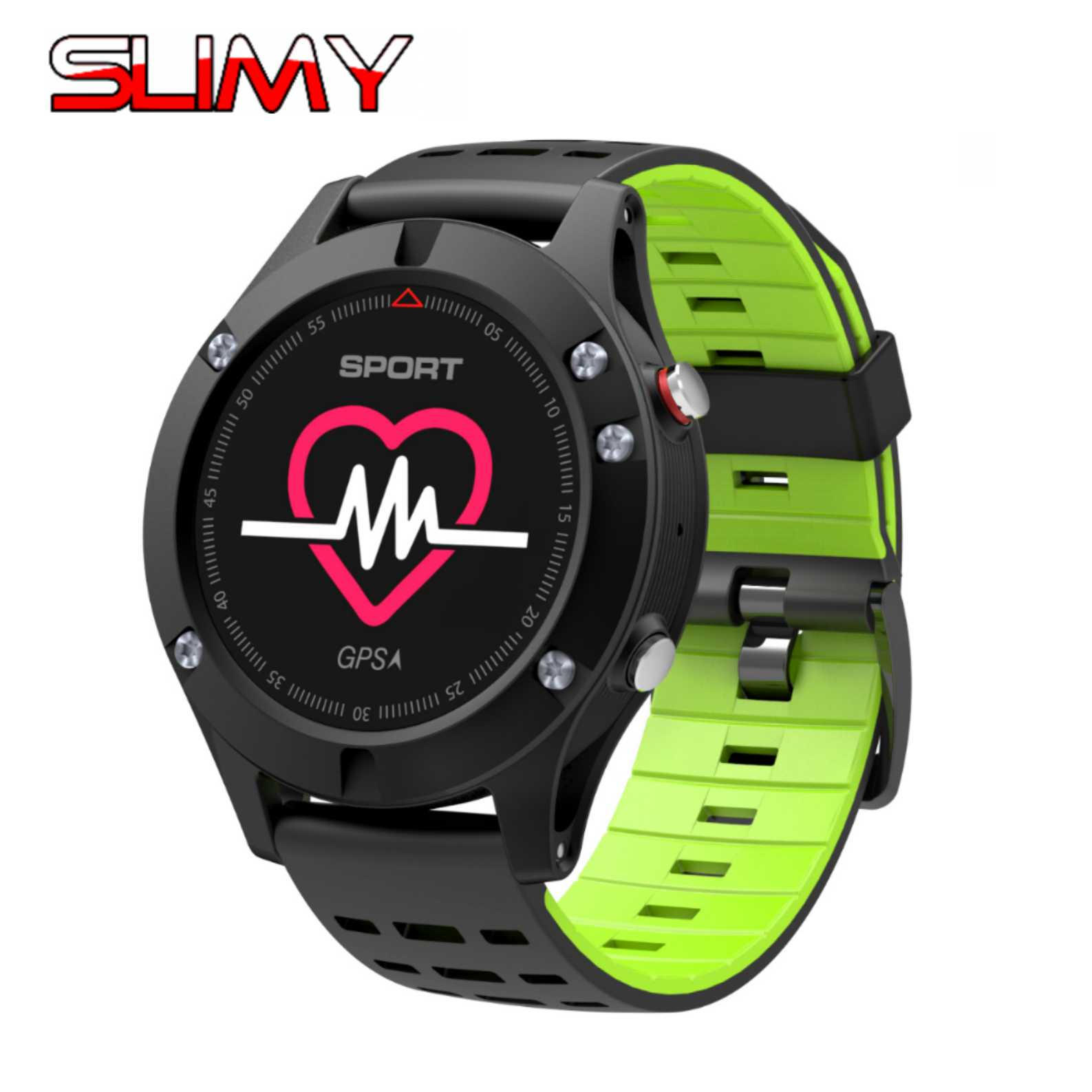 Slimy F5 GPS Smart watch Altimeter Barometer Thermometer Bluetooth 4.2 Smartwatch Wearable devices for iOS Android for Sports wearables electronic watches altimeter barometer sleep monitor g sensor watch smart android wear smart watch ios bluetooth