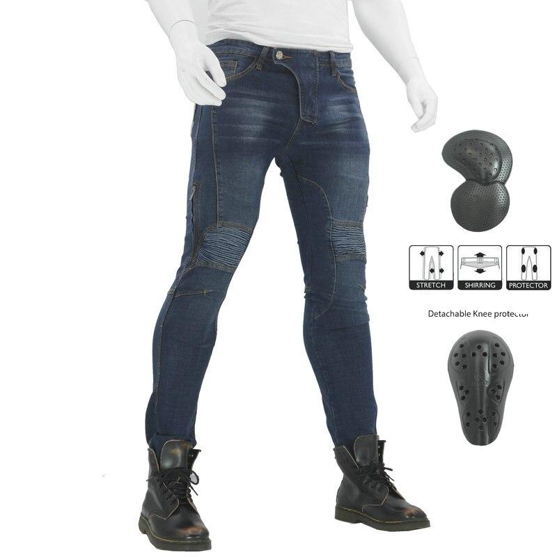 2019 nouveau Pantalon de Moto hommes Moto Jeans équipement de protection équitation pantalons de Moto paraboni pantalons de Motocross Pantalon Moto