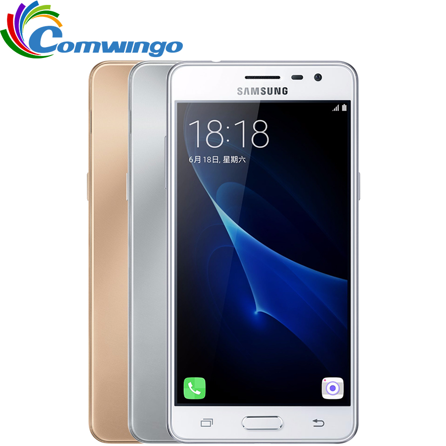 2016 New Original Samsung Galaxy On5 G5700 Cell Phone 50 Dual Sim G5510 Ram 2gb 16gb Gold J3 Pro J3110 Rom 4g Lte Quad Core Snapdragon 410 80mp Nfc G5520
