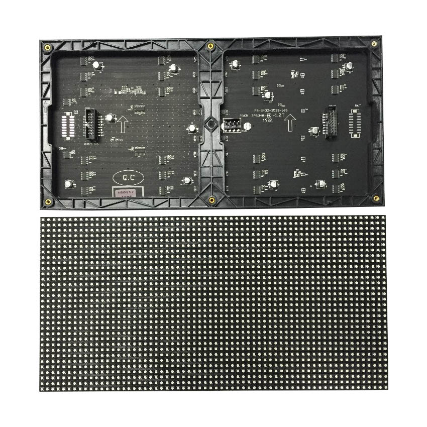 Led Screen Rgb Module 320*160mm 64*32pixels 1/16 Scan P5 SMD3528 3 In 1 Indoor Led Display Billboard, Led Video Wall Advertising