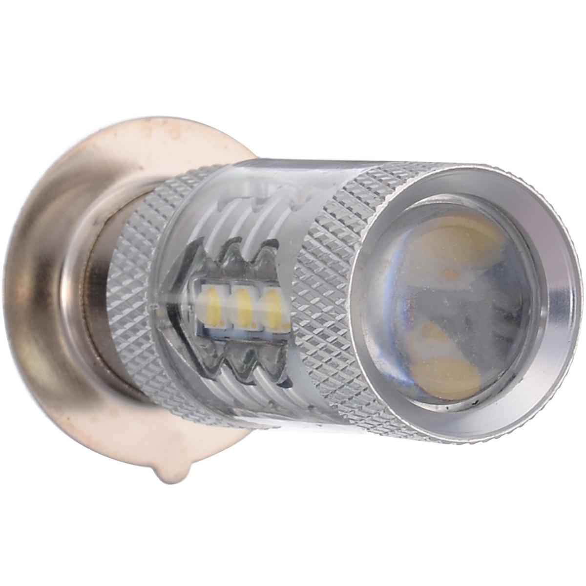 1pcs P15D H6M Motorcycle Headlight DRL Moto 20SMD LED Bulbs Lights 6500K-8500K Motobike Scooter Lamps
