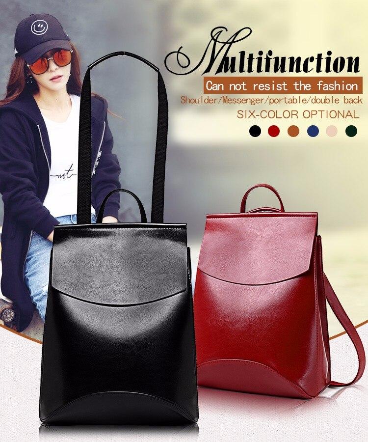 HTB1QmMRXYGYBuNjy0Foq6AiBFXay 2018 HOT Fashion Women Backpack High Quality PU Leather Backpacks for Teenage Girls Female School Shoulder Bag Bagpack mochila