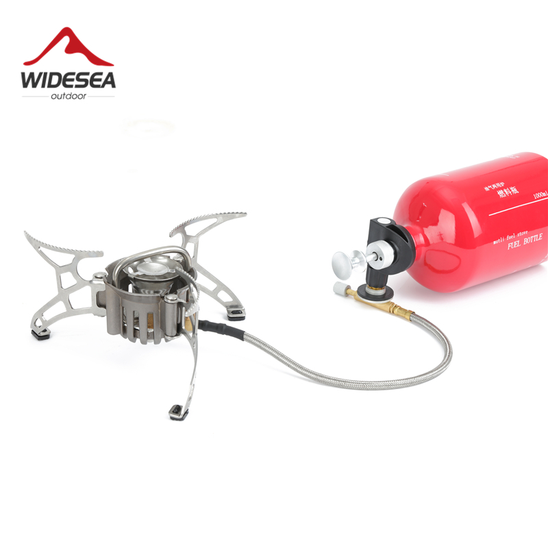Widesea Portable Camp Shove Oil Gas Multi fuel Stove Camping burners outdoor Stove Picnic Gas Stove Cooking Stove burner kasper women s replenishment woven skirt 12p black