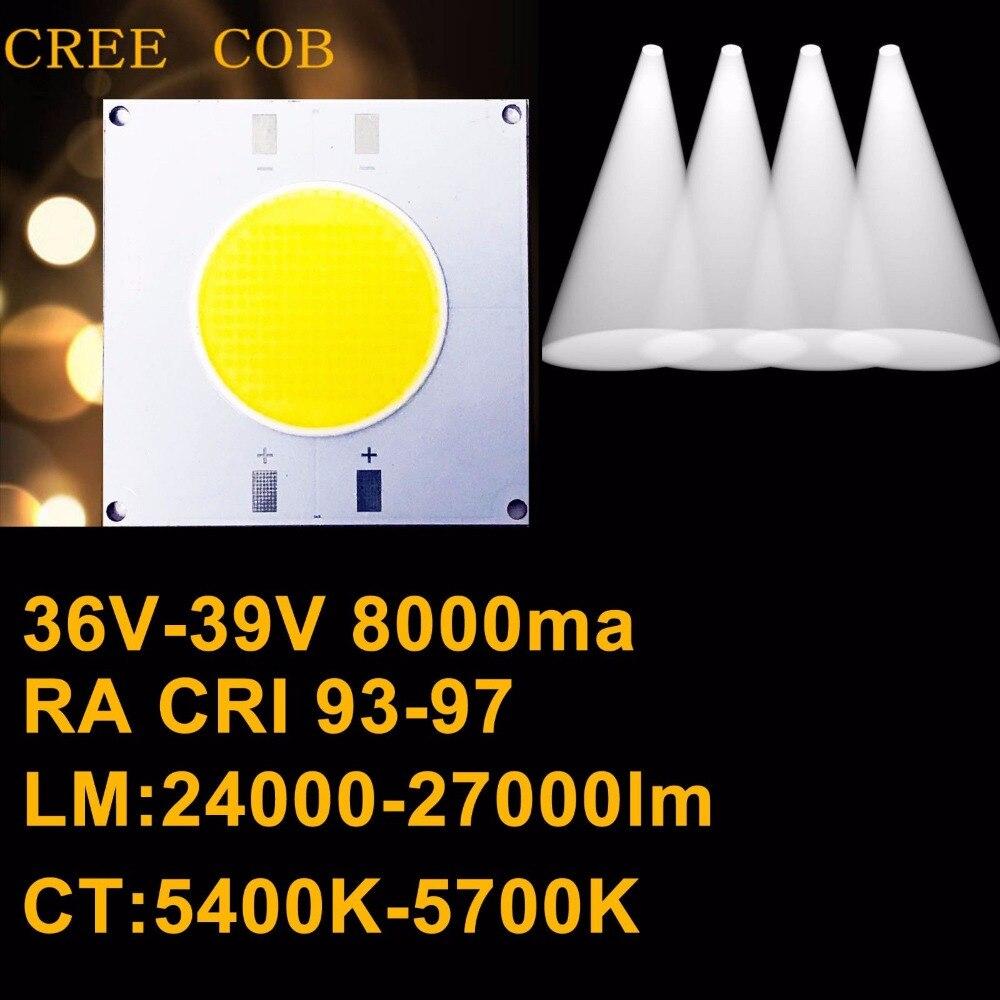 High CRI 90+ High Power Density CREE LED Chip COB LED Daylight 5600K DC 36V-39V 8A 300W 27000lm cd david bowie earthling