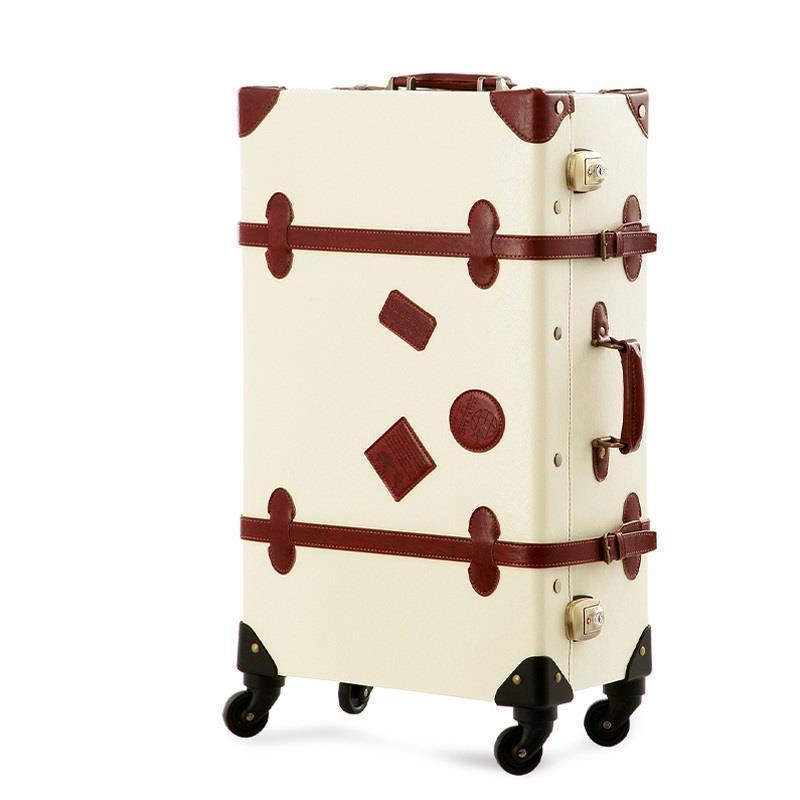Travel Bag Com Rodinhas Valise Cabine Bavul Valiz Pu Leather Koffer Mala Viagem Trolley Maleta Luggage Suitcase 20222426inch