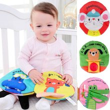 Baby Toys Soft Book Kids Early Cognitive Development Book Goodnight Educational Unfolding Learn Picture Cognize Quiet Books(China)