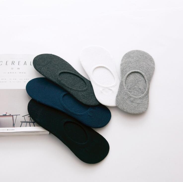 1Pair=2PCS Fashion Casual High Quality Men Socks Banboo & Cotton Socks Brief Invisible Slippers Male Shallow Mouth No Show Sock