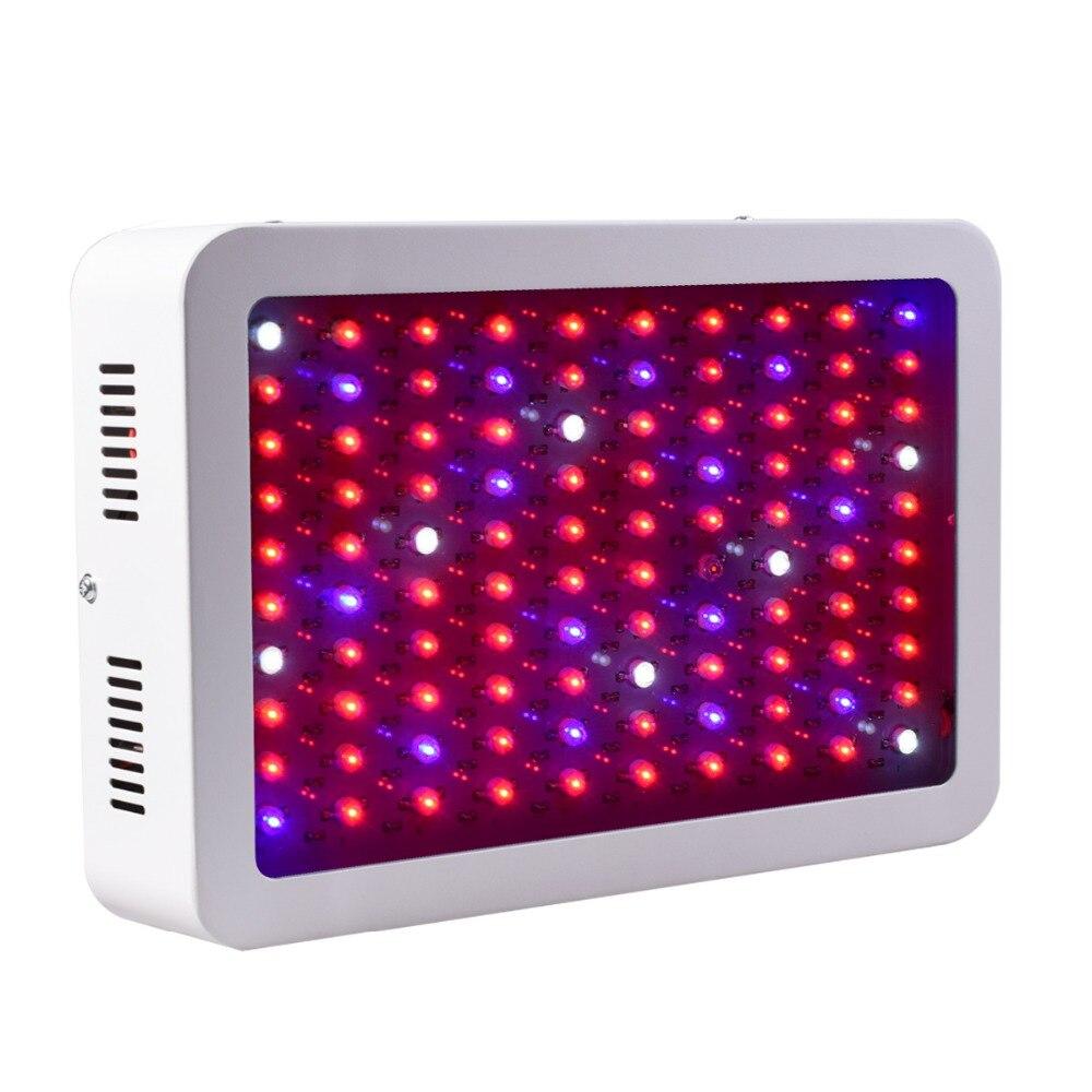 600 Вт 800 Вт 1000 Вт 1200 Вт 1500 Вт 1800 Вт 2000 Вт двойной чип светодиодный свет для выращивания полного спектра красный/синий/УФ/ИК для внутреннего зав