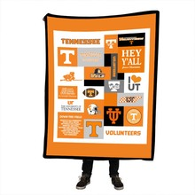 Tennessee Printing Blanket for Beds Floral Roses Thin Quilt Fashionable Bedspread Fleece Throw