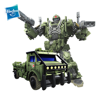 Hasbro Transformers Toys The Last Knight Premier Edition Voyager Class Autobot Hound Action Figure Collection Model Car Toy
