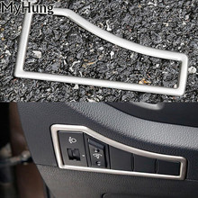 For KIA Sportage R 2011-2014 2015 Headlight Switch Multifunction Button Decorative Box Cover Stainless Steel Car Accessories
