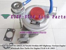 GT2556S 711736-5003 s 711736 711736-0003 2674A202 Turbo Für Perkins Massey Ferguson 5455 Traktor Loader Bagger 420D-IT 4.4L
