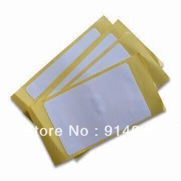 DWE CC RF 50pcs/lot + ISO18000-6C (EPC GEN2) UHF paper  card sticker + reading range up to 8m iso 18000 6c gen c2 20m long range passive uhf rfid tag sticker lable for asset management