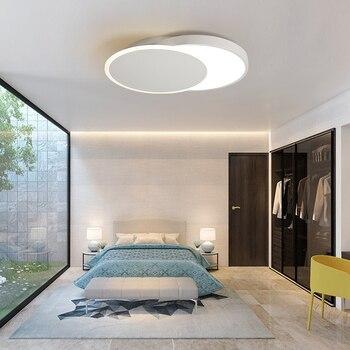 Современный Креативный светодиодный потолочный светильник для спальни в помещении простая лампа для аромамасел различные круговые стильн...
